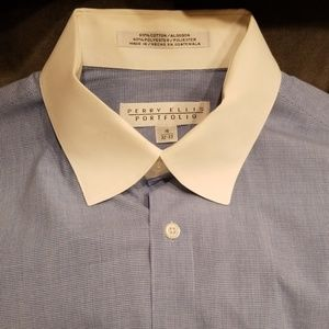 Perry Ellis men's dress shirt